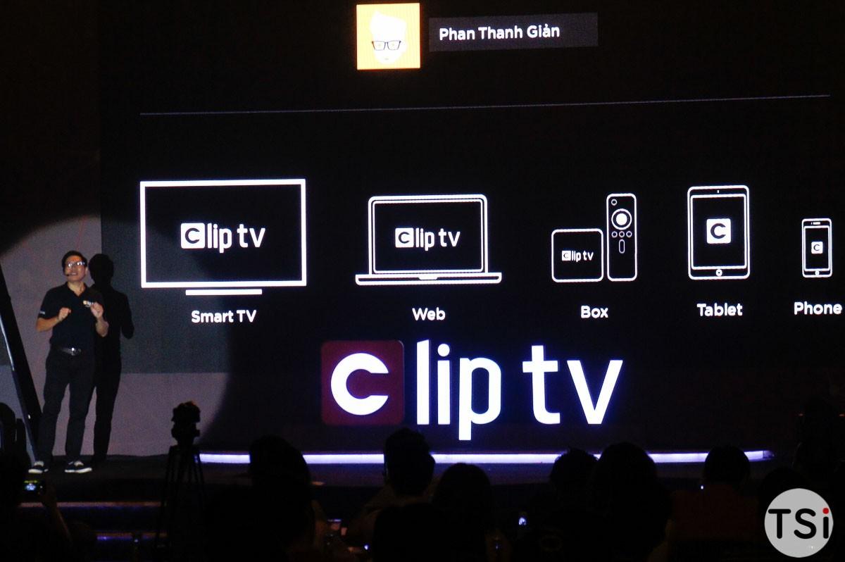 Clip TV ra mắt dịch vụ truyền hình Internet mới với kho nội dung giải trí đồ sộ