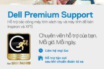 Dell đưa dịch vụ bảo hành Premium Support cho máy Inspiron và XPS