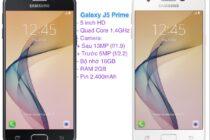 Galaxy J5 Prime lên kệ giá 5 triệu đồng, giao hàng từ 22/12