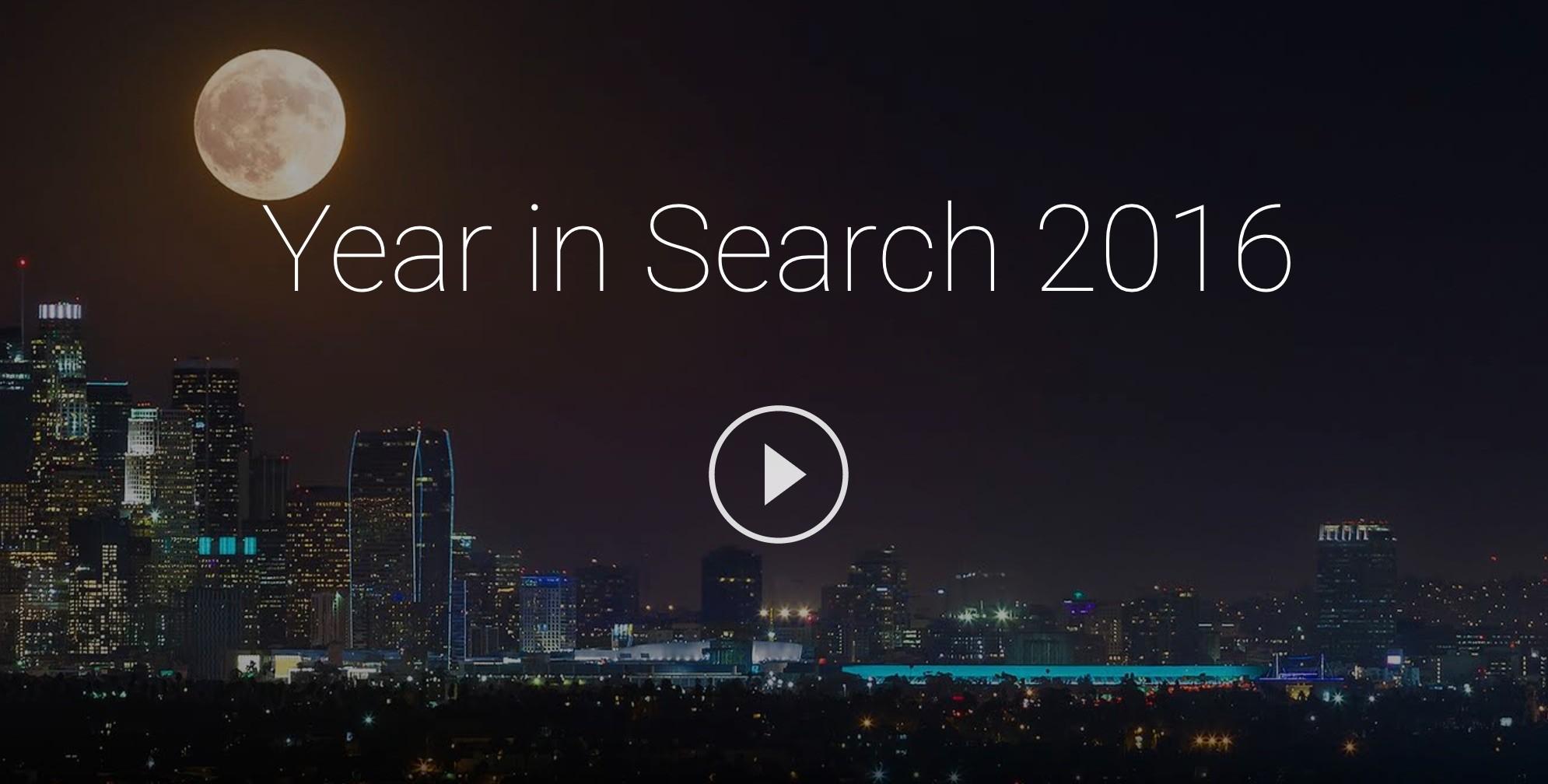 Google tổng hợp từ khóa tìm kiếm nhiều nhất Việt Nam năm 2016