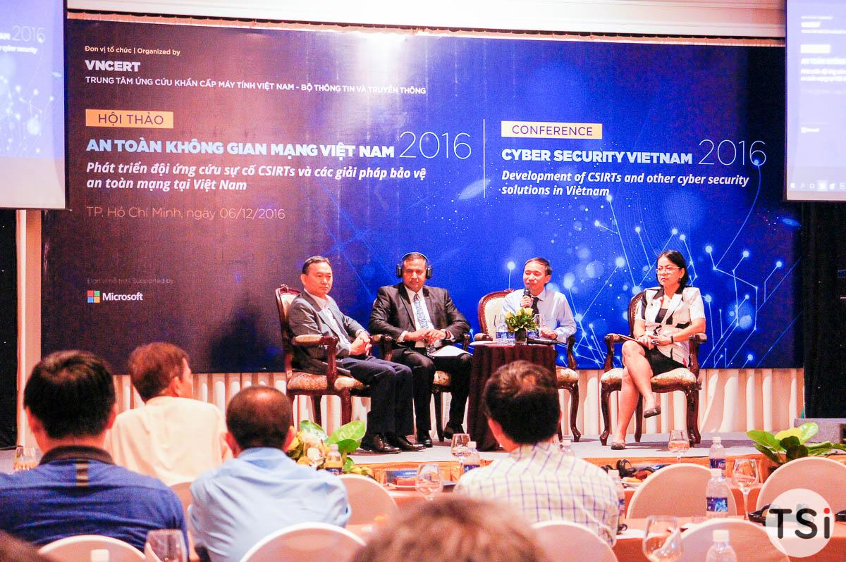 Nhiều thông tin quan trọng tại Hội thảo An toàn không gian mạng Việt Nam 2016