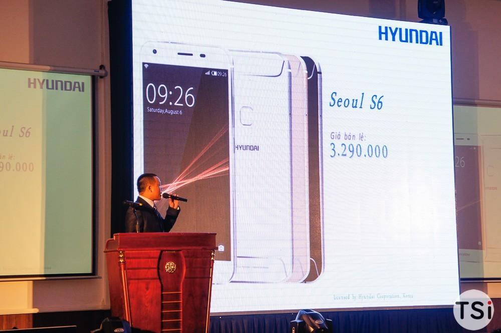 Hyundai lên kệ hai smartphone Seoul 5 và Seoul S6
