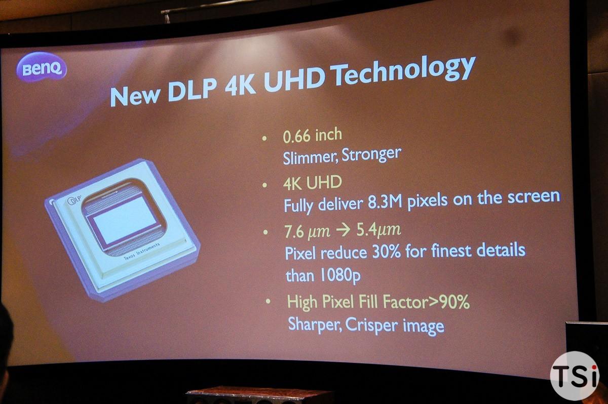 BenQ giới thiệu máy chiếu DLP 4K UHD tại gia đầu tiên đạt chuẩn THX HD Display
