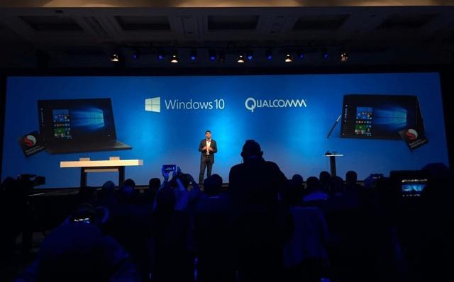 Qualcomm phát triển chip Snapdragon trên máy tính chạy Windows 10