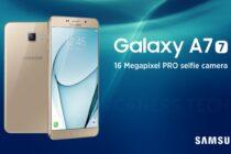Giá Samsung Galaxy A7 2017 có thể dưới 12 triệu đồng