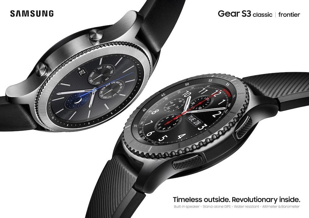 Samsung Gear S3 chính thức bán từ 7/1, hai phiên bản giá 8 triệu đồng