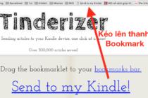 Tinderizer: xem nội dung website như ebook trên Kindle