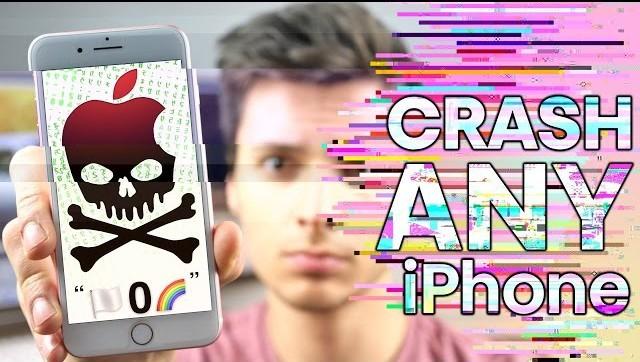 Tất cả các thiết bị iOS đều có thể bị treo chỉ bởi 3 ký tự này