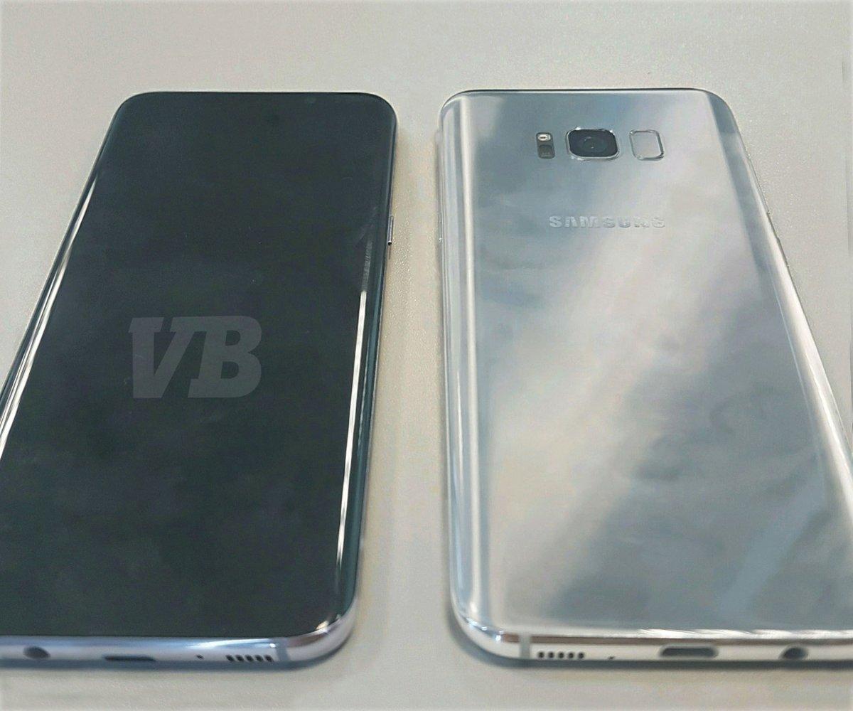 Ảnh rò rỉ đầu tiên của Galaxy S8: không phải USB-C, có thể chỉ là bản tester