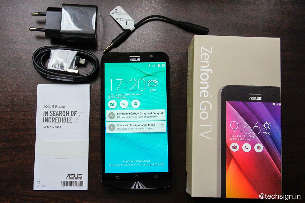 Ảnh thực tế Asus ZenFone Go TV: smartphone hỗ trợ bắt đài TV