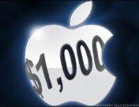 Apple dự kiến đạt doanh thu ngàn tỉ USD giữa năm 2017