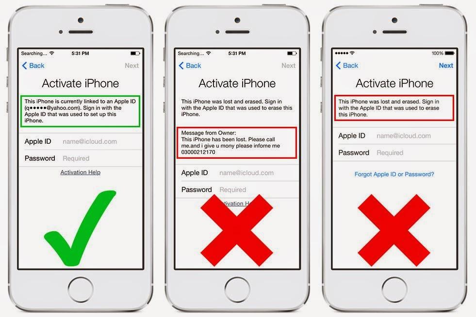 Hướng dẫn cách tránh mua nhầm iPhone hàng ăn cắp