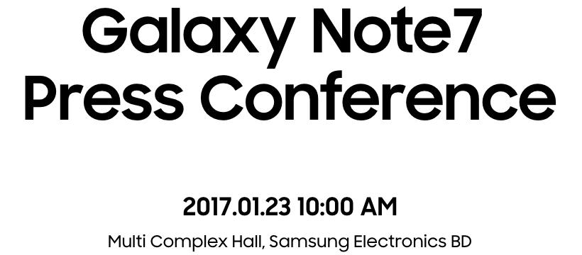 Samsung sẽ họp báo và trực tuyến nguyên nhân Galaxy Note7 cháy nổ