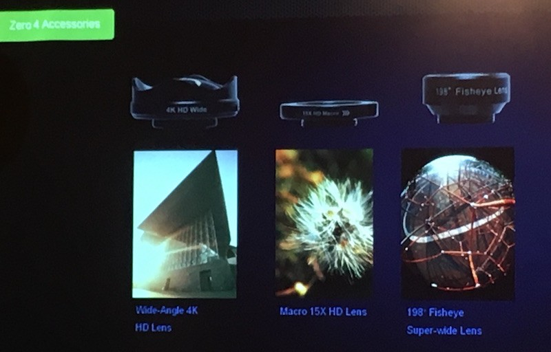 Infinix Zero 4 ra mắt, tặng kèm bộ 3 ống kính chuyên dụng, bán vào trung tuần tháng 1