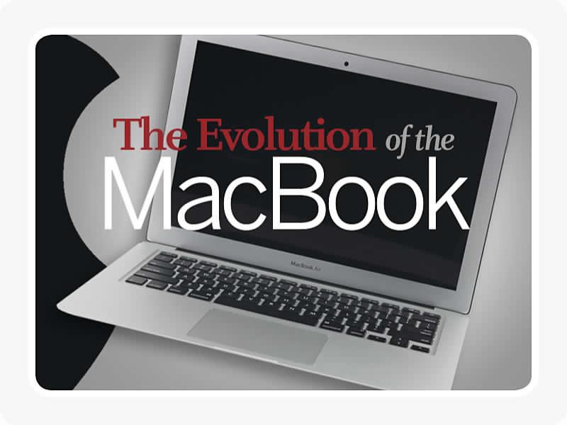 Nhìn lại lịch sử phát triển 25 năm của Apple Macbook