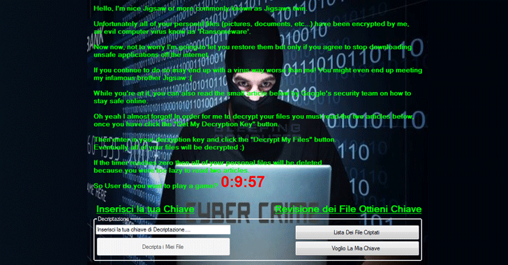 Ransomware mới giải mã dữ liệu miễn phí bằng cách bắt buộc người dùng đọc báo an ninh mạng