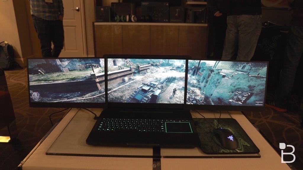 Razer bị trộm 2 mẫu laptop gaming Project Valerie tại CES 2017