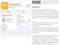 Samsung Gear S2/S3 đã có ứng dụng hỗ trợ chính thức trên iOS