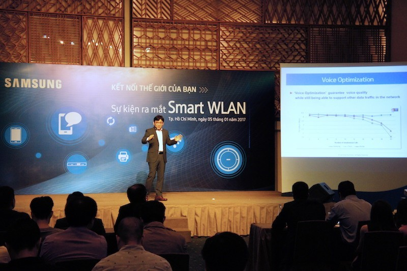 Samsung Smart WLAN: bộ giải pháp không dây mạnh và an toàn cho doanh nghiệp