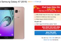 Thế Giới Di Động giảm giá Samsung Galaxy A7 2016 gần 1 triệu đồng