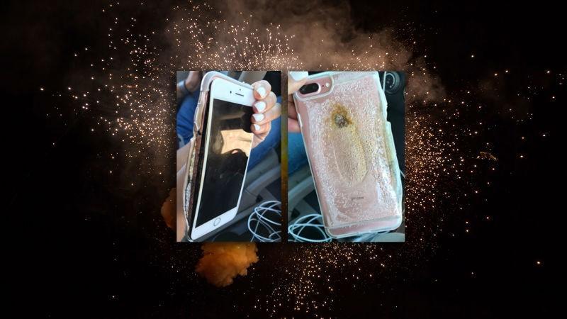 Apple iPhone 7 Plus phát nổ sau khi rút sạc