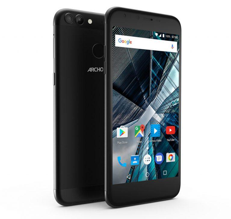 Archos ra mắt smartphone 55 Graphite và 50 Graphite, cả 2 được trang bị camera kép