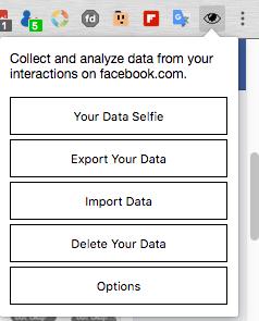 Data Selfie: ứng dụng cho thấy Facebook đã thu thập những hoạt động nào của bạn