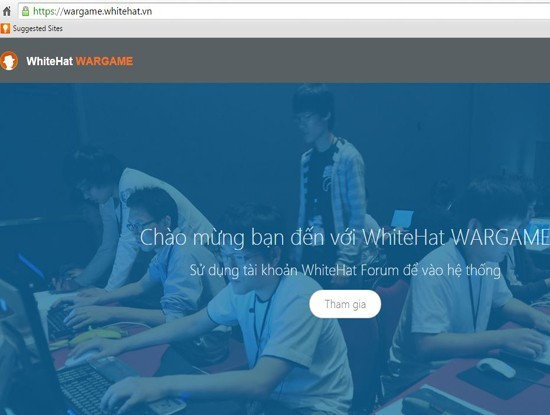"""Diễn đàn hacker mũ trắng WhiteHat.vn tổ chức cho các """"tân binh"""" thi an ninh mạng"""