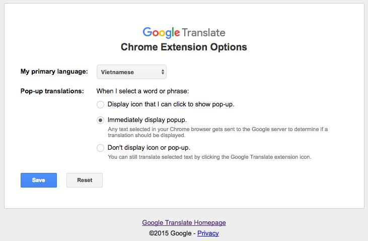 Hai giải pháp giúp bạn dịch thuật ngay trên trình duyệt Google Chrome