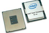 Intel cho ra mắt chip Xeon E7-8894 v4 có 24 nhân và xung nhịp lên tới 3.4 GHz