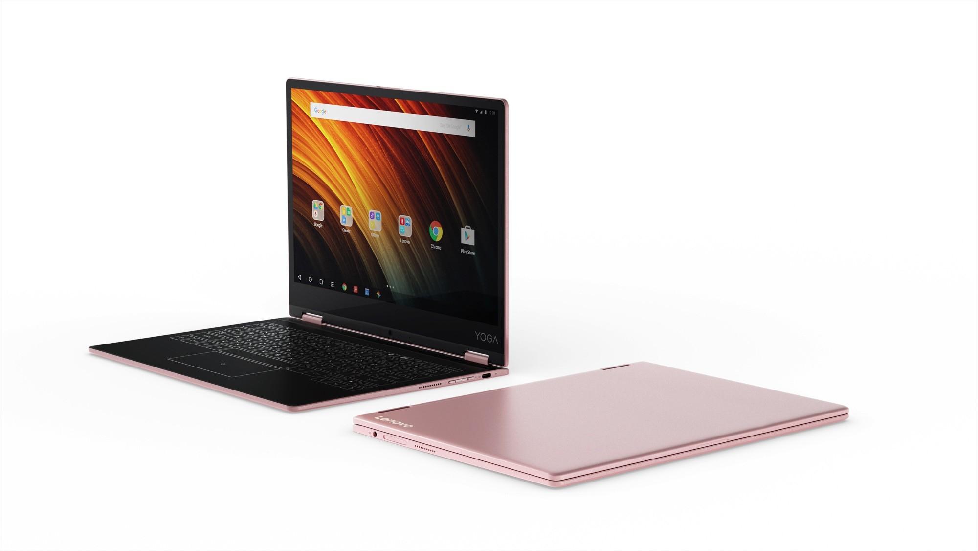 Ra mắt máy tính bảng lai Lenovo Yoga Book A12, giá chỉ 299 USD