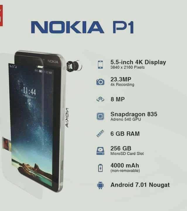 Xuất hiện video concept mẫu điện thoại Nokia P1