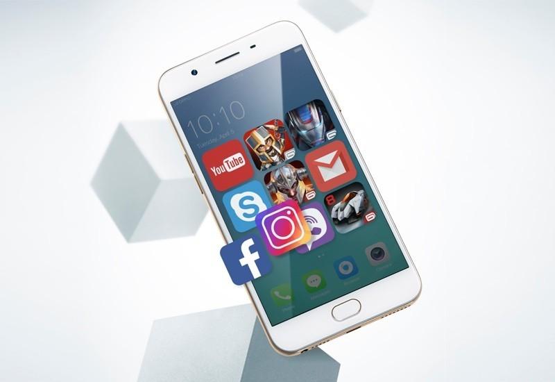 Oppo F1s 2017 chính thức ra mắt từ 13/2 với giá 7 triệu đồng