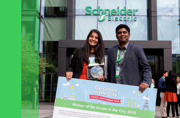 Schneider Electric phát động cuộc thi Giải pháp Xanh cho Thành phố