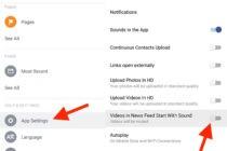 Tắt chức năng tự động phát âm thanh cho video trên Facebook