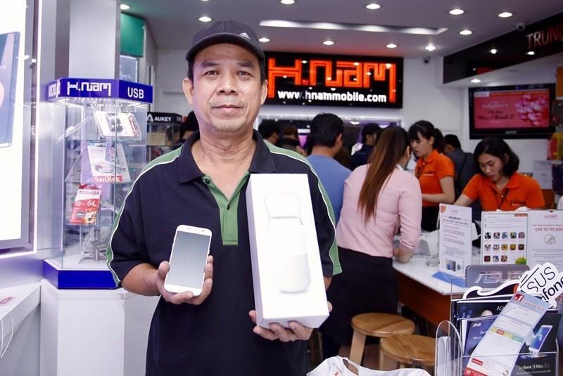 Hnam mobile mở bán Galaxy A 2017
