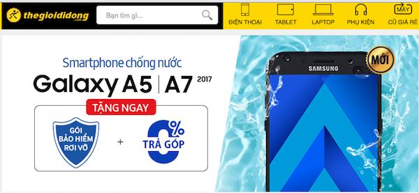 Thế Giới Di Động lên kệ 2 dòng smartphone mới của Samsung và HTC