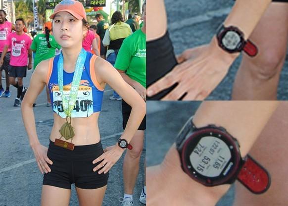 Vận động viên Marathon thắng cuộc bị phát hiện gian lận nhờ smartwatch