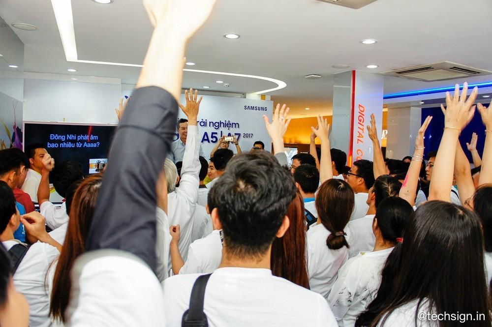 Viễn Thông A tổ chức offline trải nghiệm Samsung Galaxy A 2017