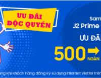 Viettel Store ưu đãi đến 800.000 đồng cho Samsung Galaxy J2 Prime và J5 Prime