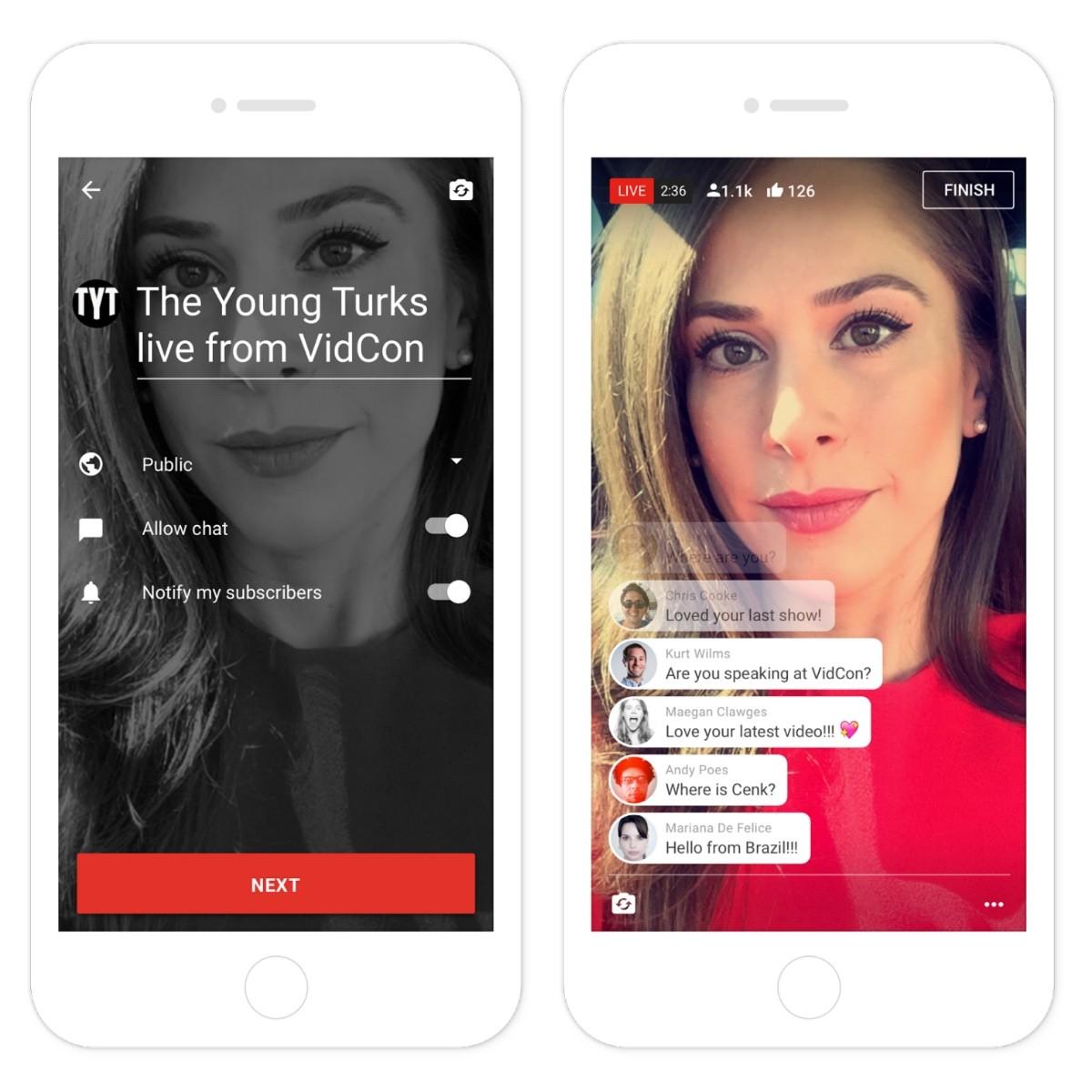 YouTube mở Mobile Live Streaming cho tài khoản có hơn 10.000 Subscriber