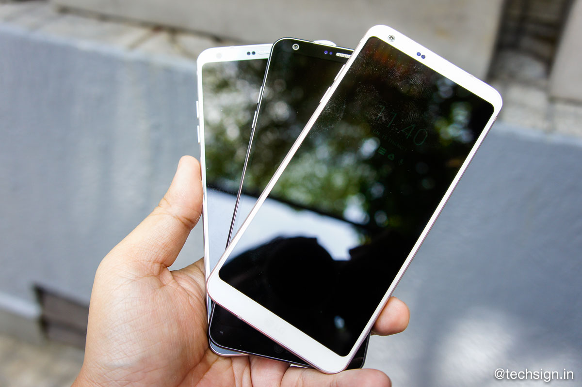 Ảnh thực tế cùng giá bán LG G6 tại Việt Nam