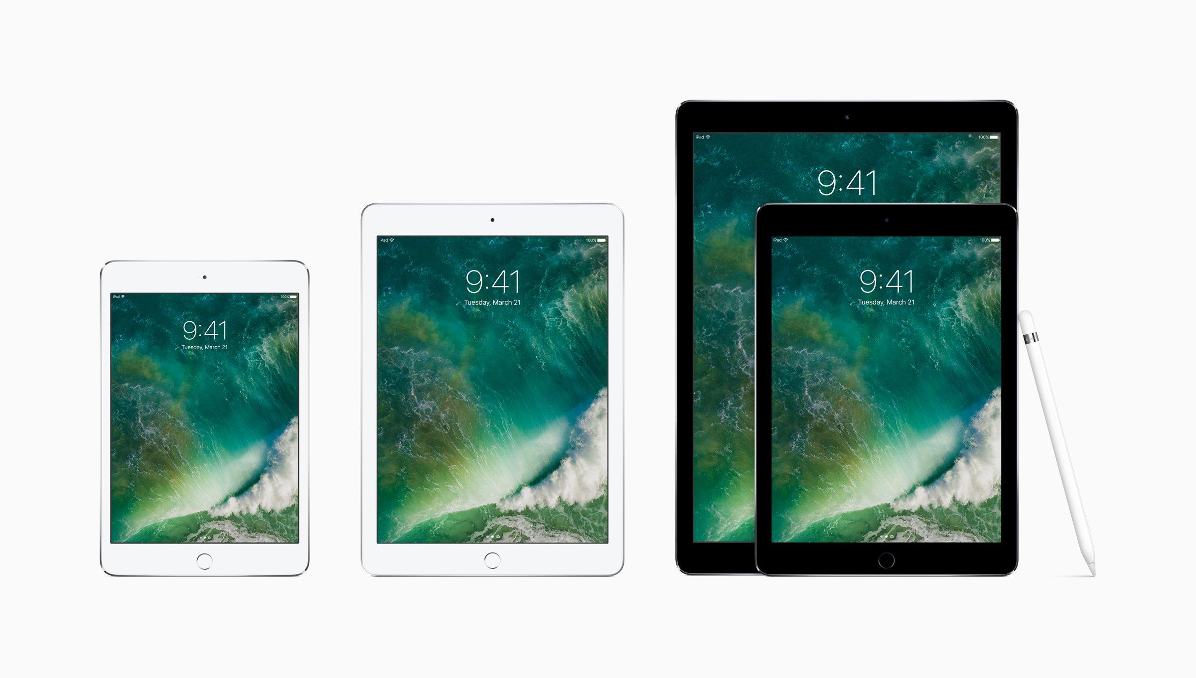 Apple ra mắt iPad 9,7 inch mới với chip A9, giá khởi điểm 329 USD