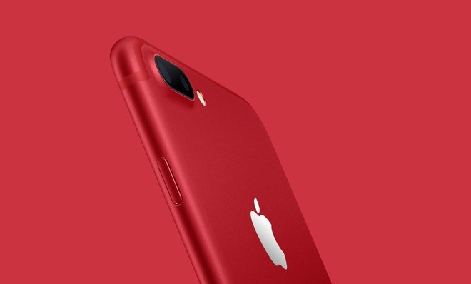 Apple ra mắt iPhone 7 và 7 Plus (PRODUCT) RED