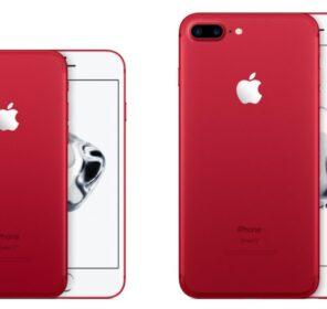 Apple ra mắt iPhone 7 và 7 Plus phiên bản màu đỏ, nhằm gây quĩ phòng chống AIDS