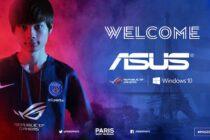 ASUS ROG chính thức tài trợ cho đội tuyển PSG eSports