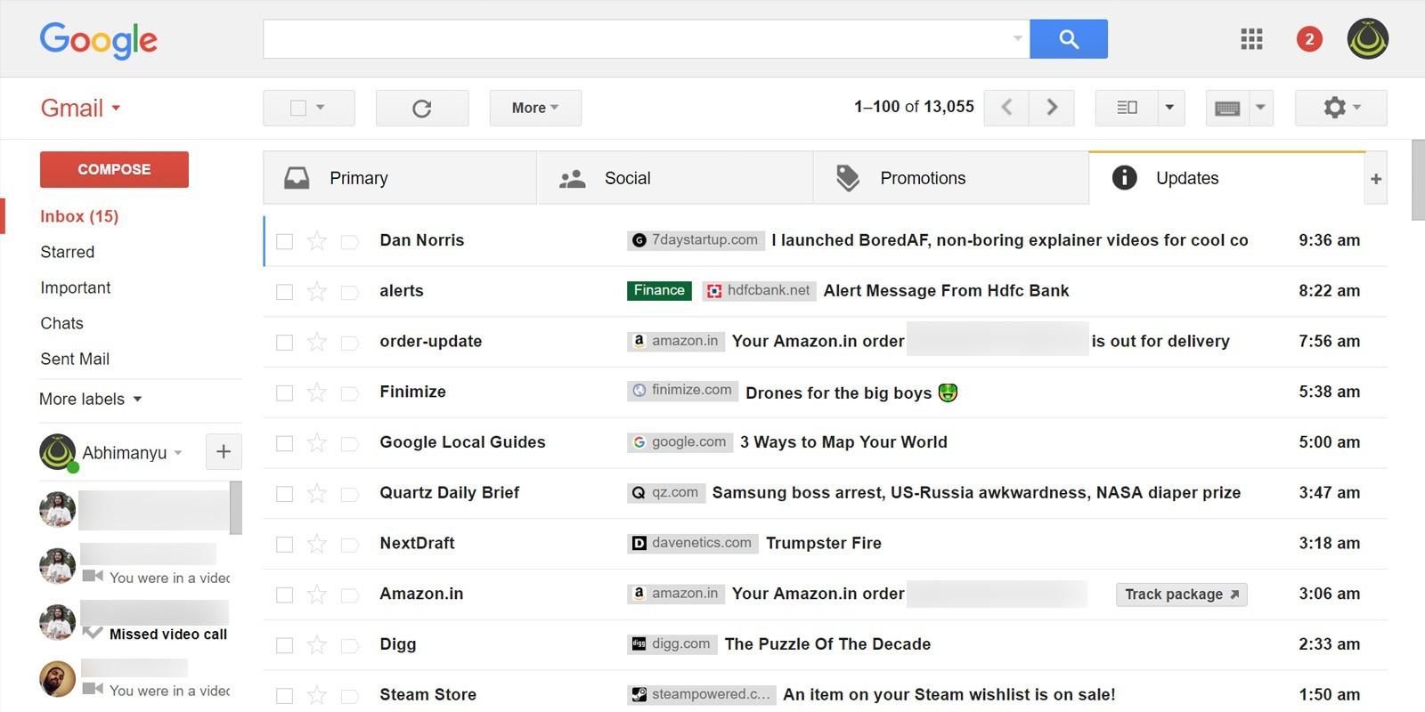 Gắn icon riêng biệt cho email gửi đến với Gmail Sender Icons