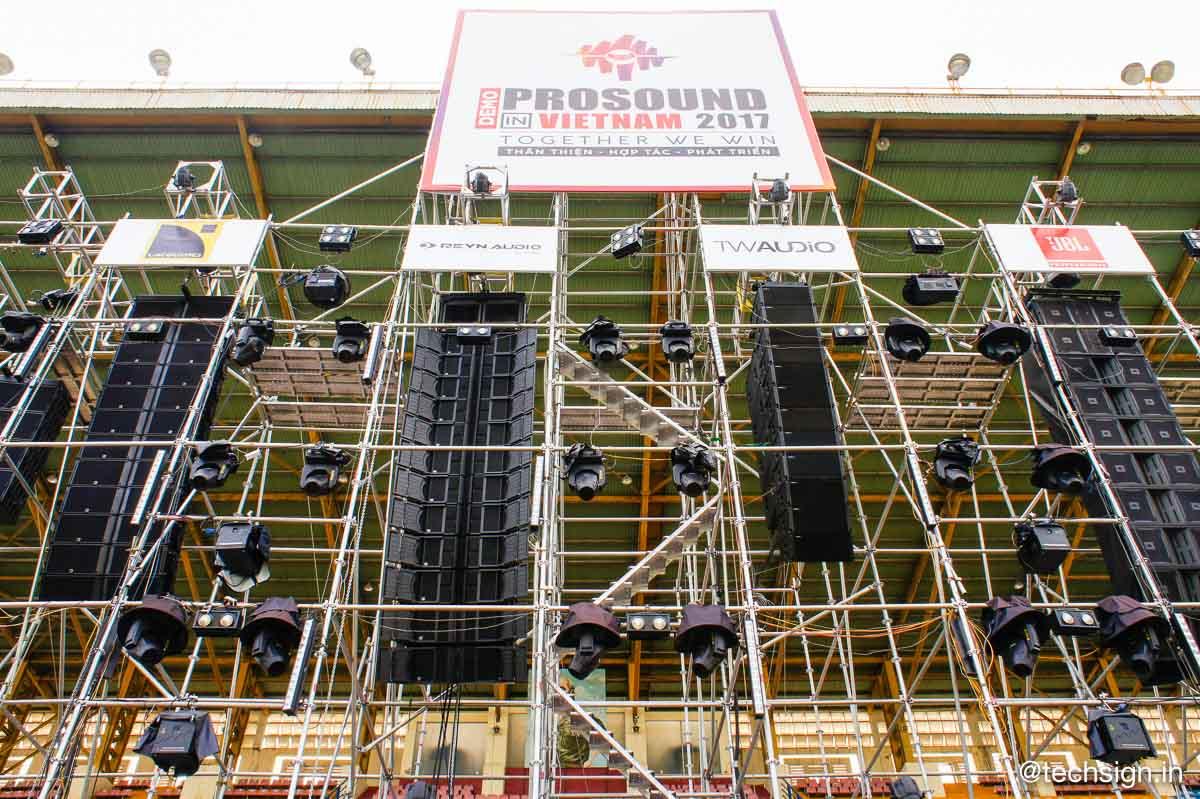Electro-Voice giới thiệu hệ thống loa X-Line Advance X2 tại sự kiện Demo ProSound Vietnam 2017