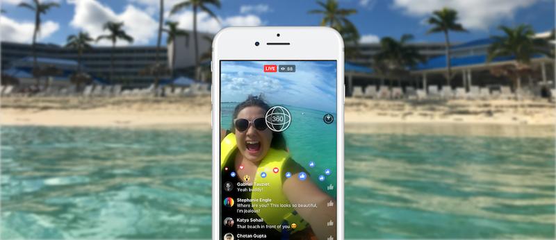 Facebook tung Live 360 cho tất cả tài khoản người dùng và Fan Page