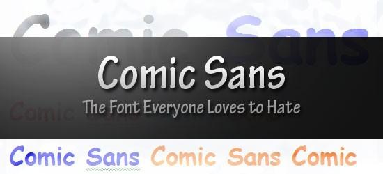 Font chữ Comic Sans: font chữ 'xấu xí' nhưng giúp bạn tập trung khi đọc